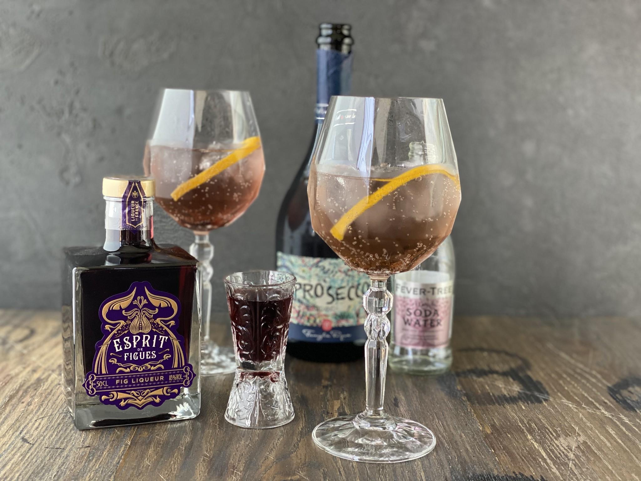 Fig Spritz Cocktail