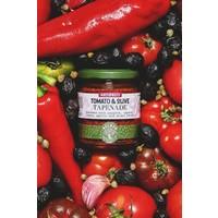 Tartinade à la tomate et aux olives