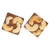 Pure Flavor Mini Caraque Melchocolade met cashewnoot