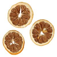 Tranches de citron déshydratées