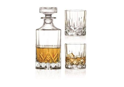 RCR Cristalleria Italiana Whiskey Set 3 -delig Opera