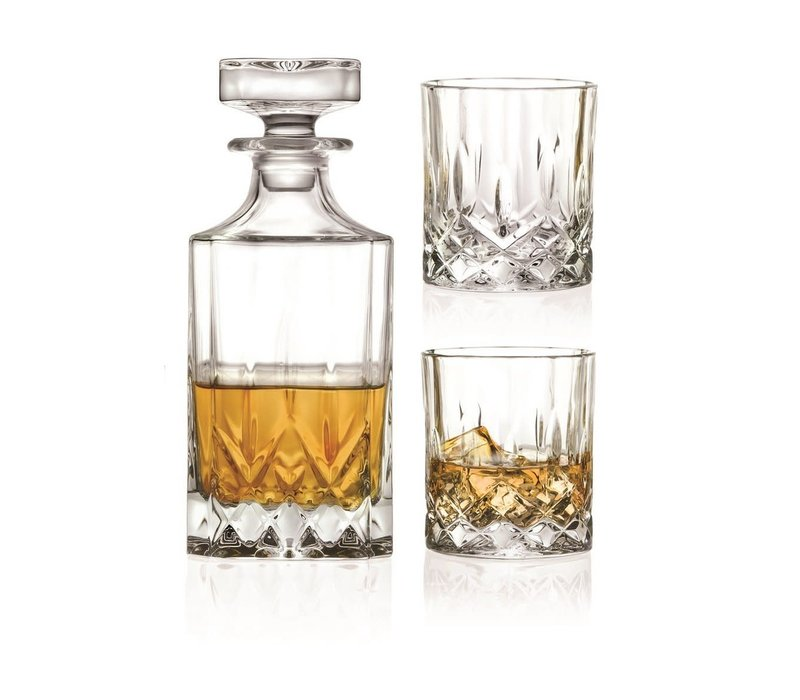 Ensemble à whisky Opera 3 pièces