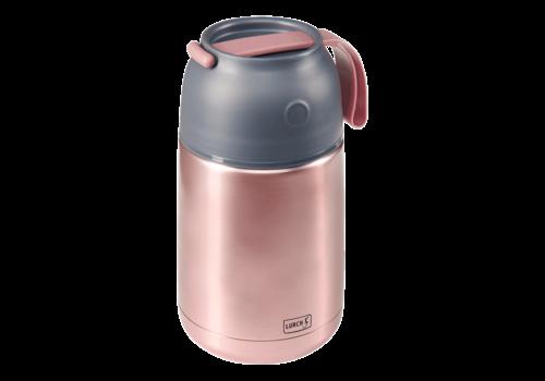 Lurch Dubbelwandige Voedselthermos roze - 680 ml