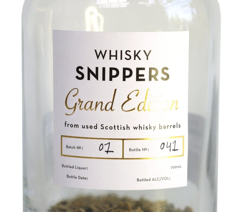 Snippers Grand Edition Whisky