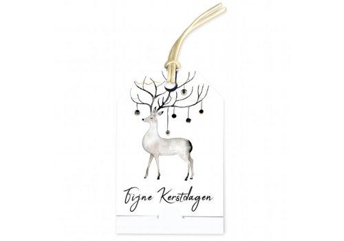 carte de voeux 'Fijne Kerstdagen' (ajoutezvotremessage personnel)