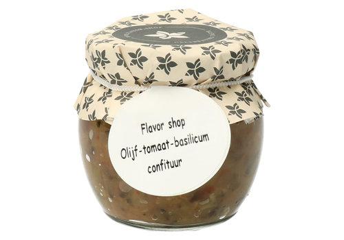 Pure Flavor Olijf, Tomaat & Basilicum Confituur 106 ml