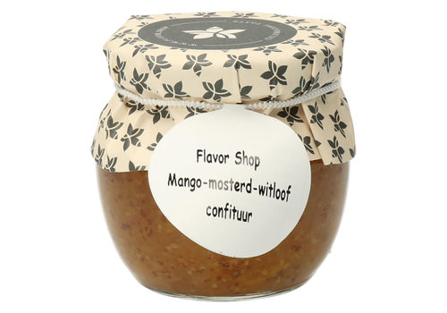Pure Flavor Mango, Mosterd & Witloof Confituur 106 ml