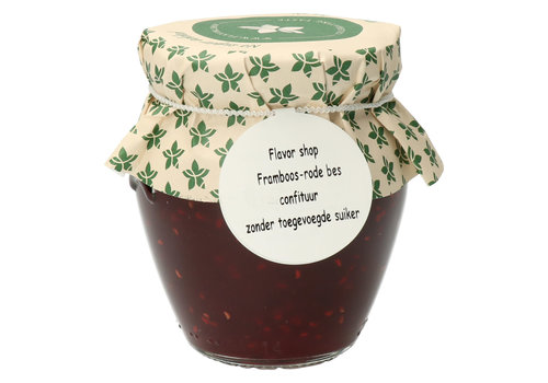 Pure Flavor Framboos & Rode Bes Confituur 212 ml Suikervrij