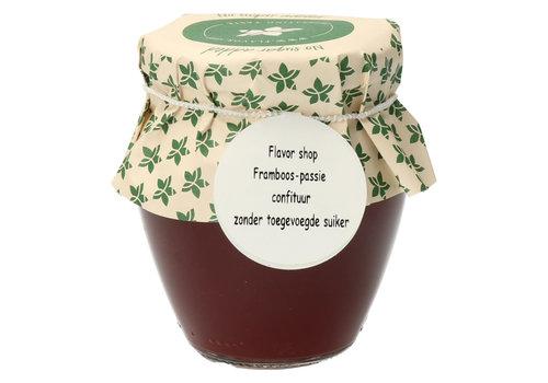 Pure Flavor Framboos & Passievrucht Confituur 212ml Suikervrij
