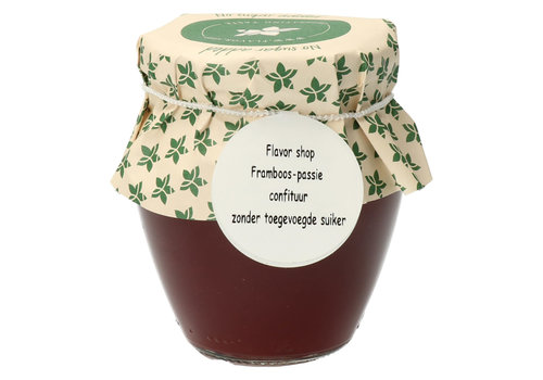 Pure Flavor Framboos & Passievrucht Konfituur 212ml Suikervrij