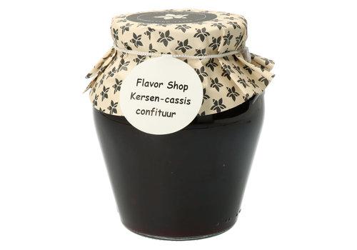 Pure Flavor Kersen & Cassis Confituur 375 ml