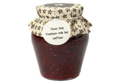 Pure Flavor Framboos & Rode Bes Confituur 375 ml