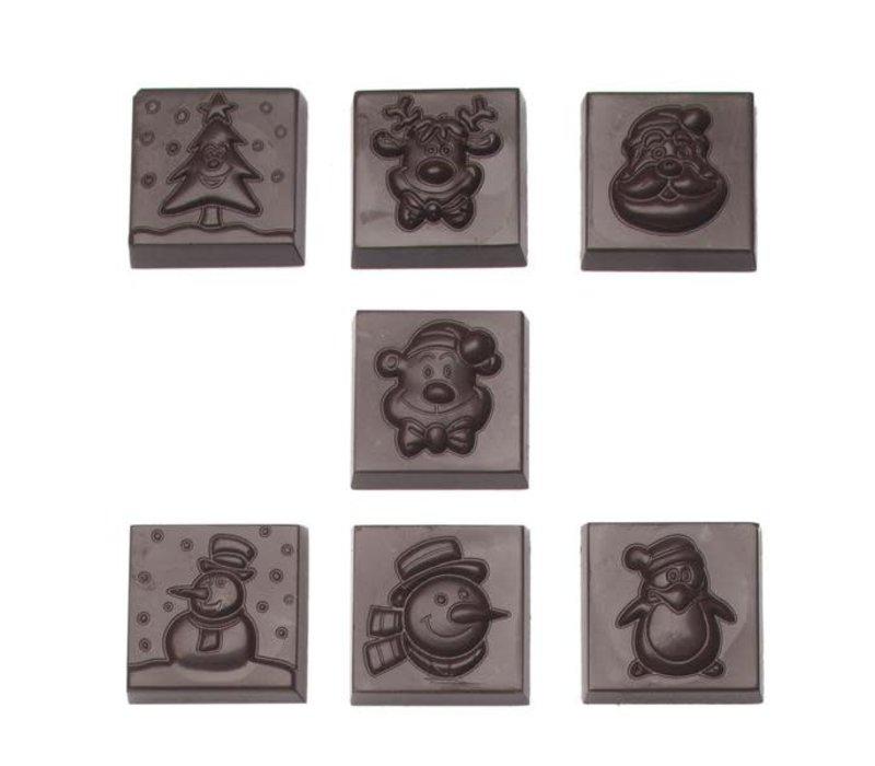 Kerst Caraques Mix Melk Fondant - Valentino Chocolatier