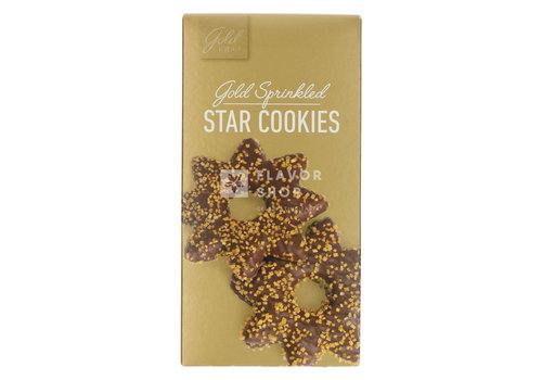 Star Cookies - Melkchocolade & sprinkles (Goud) 140 g