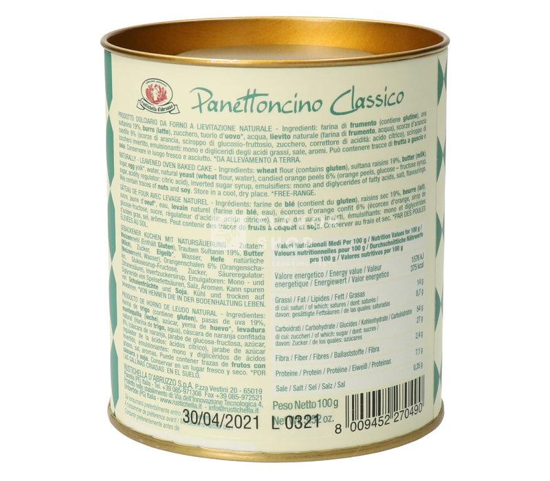 Panettoncino classico in blik 100 g