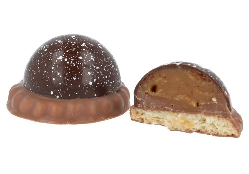 Pure Flavor UFO'tjes Pure chocolade met champagne +/- 200 g