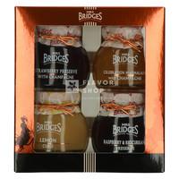 "Confituren ""Luxury Selection"" Mrs Bridges 4 x 113 g"