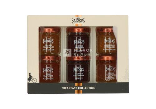 Mrs Bridges Mini Breakfast Collection - Confituren - Mrs Bridges 6 x 42 g