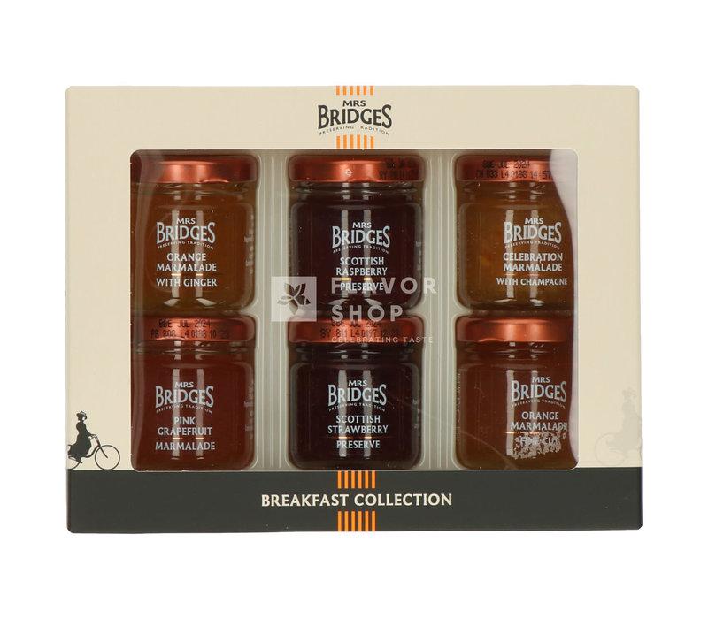 Mini Breakfast Collection - Confituren - Mrs Bridges 6 x 42 g