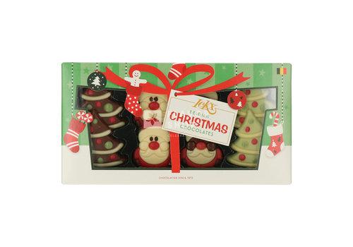 Pure Flavor Assortiment Kerstbomen en Kerstmannen 95g