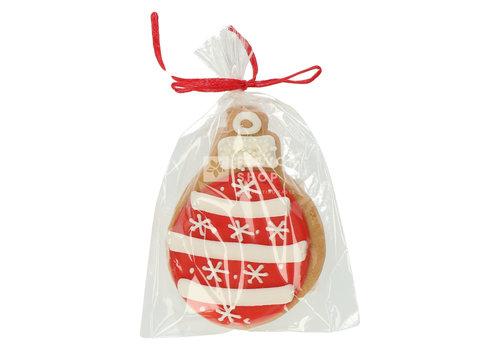 Pure Flavor Artisanaal boterkoekje - Rode kerstbal 40 g