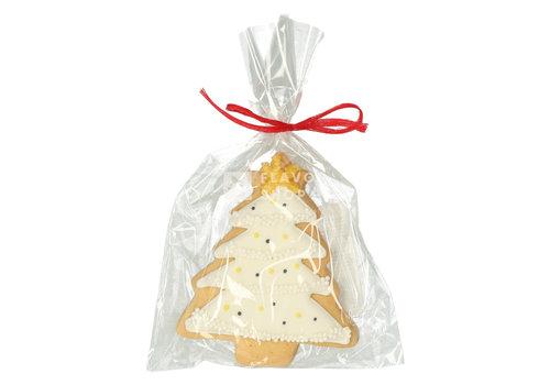 Pure Flavor Artisanaal boterkoekje - Witte kerstboom 33g