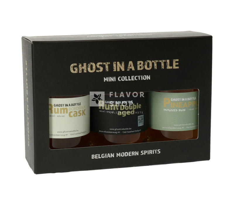 Mini Collection - Ghost in a Bottle Rum - 3 x 10 cl
