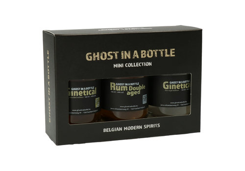 Ghost in a Bottle Mini Collection Ghost in a Bottle - Rum & Gin 3 x 10 cl