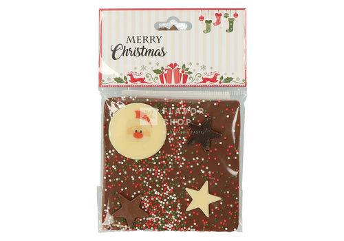 Melkchocolade Tablet kerstfiguurtje 75 g