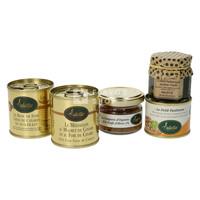 Geschenkdoos Plaisirs Epicurien (foie gras, paté, magret de canard & konfijt)