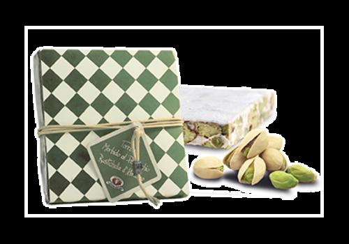 """Rustichella d'Abruzzo """"Torrone Morbido al Pistacchio"""" Nougat met pistache 200 g"""