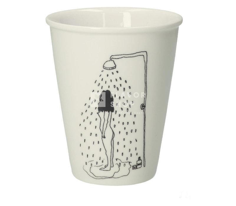 Copy of tasse en porcelaine jartelle girl