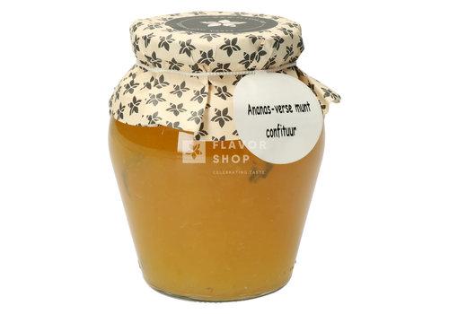 Pure Flavor Ananas-verse munt Confituur 375 ml