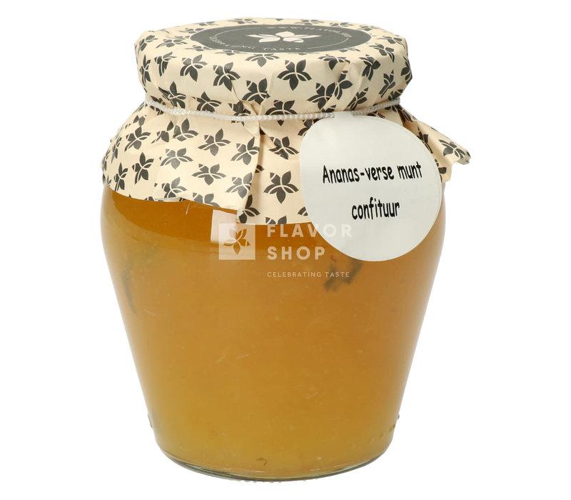 Ananas-verse munt Confituur 375 ml