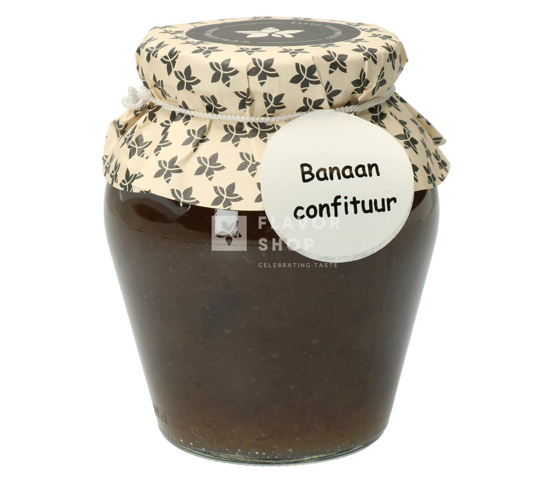 Banaan Confituur 375 ml
