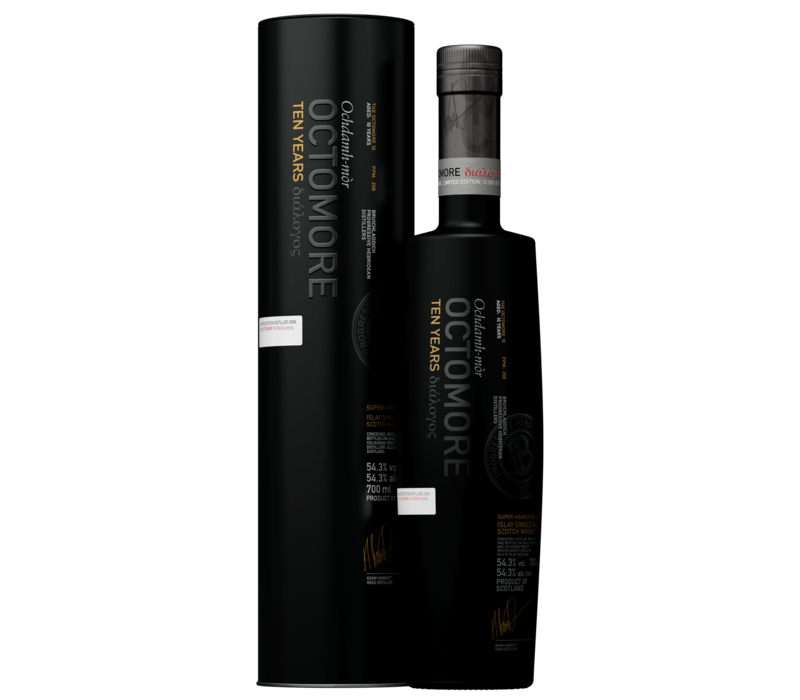 Bruichladdich Octomore Islay Single Malt Whisky 10 Ans - 70 cl