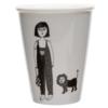 helen b Tasse en porcelaine 'girl with cub'