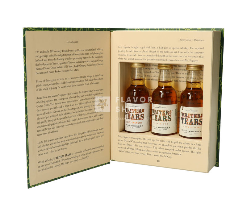 Writer's Tears Copper Pot Whisky 3 x 5 cl
