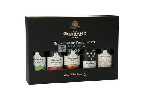 Graham's Graham's Selection des meilleurs ports - 5 x 5 cl