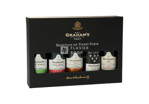 Graham's Graham's Selection of finest ports - 5 x 5 cl