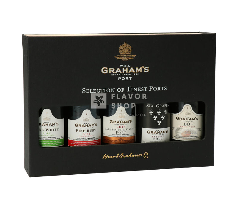 Graham's Selection of finest ports - 5 x 5 cl