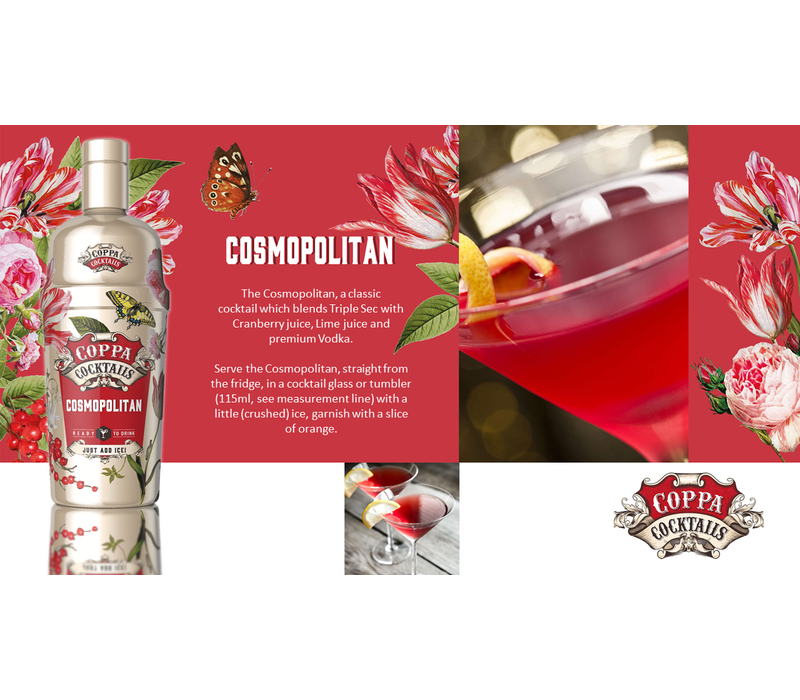 Cosmopolitan 'Ready to drink' Cocktail 70 cl