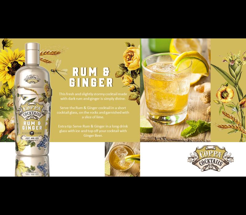 Cocktail Rhum & Gingembre 'Prêt à boire' 70 cl