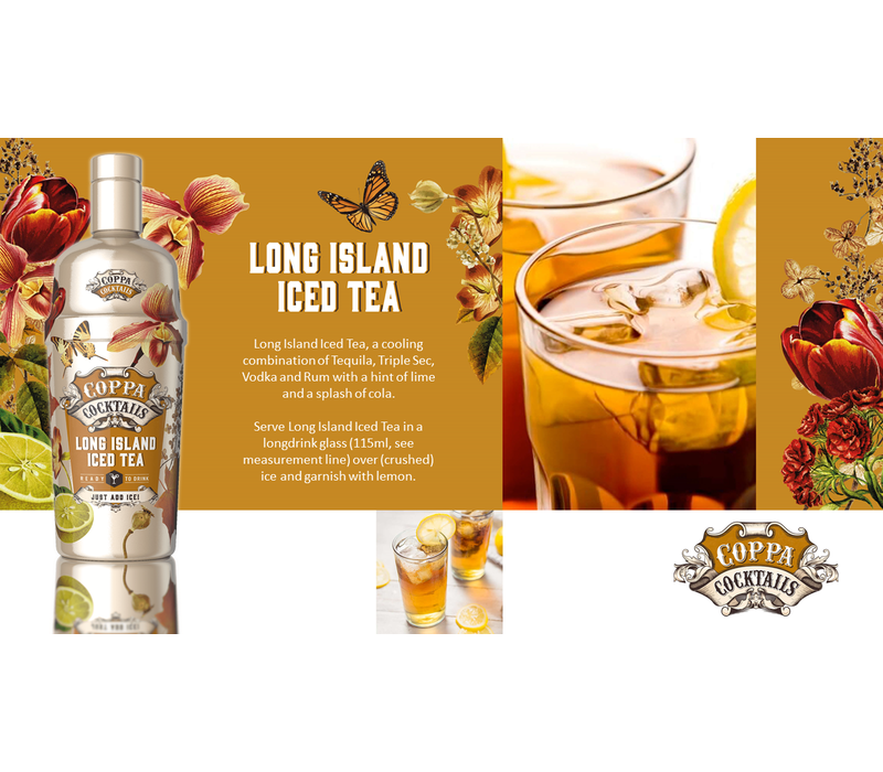 Long Island Ice Tea 'Ready to drink' Cocktail 70 cl