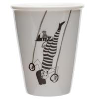 Tasse en porcelaine 'Tiger woman'
