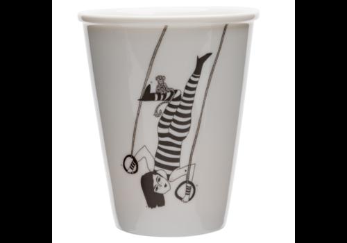 helen b Tasse en porcelaine 'Tiger woman'