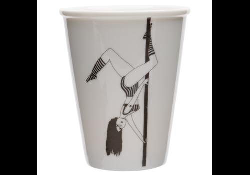 helen b Tasse en porcelaine 'Poledancer'