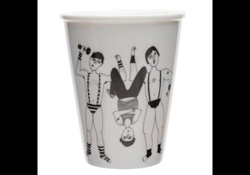 helen b Tasse en porcelaine 'The ronaldo boys'