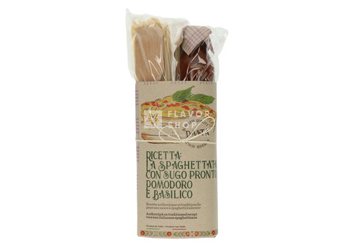 Casarecci di Calabria Pasta recept: LaSpaghettataconSugopronto PomodorieBasilico