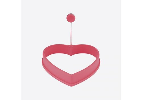 Dotz Eibakring uit silicone -hart11x11x2cm